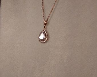 Halo necklace Etsy