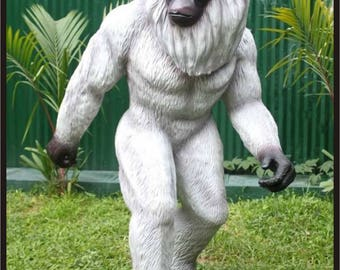 Yeti - Abominable Snowman #2 Life Size Custom Made Statue Prop