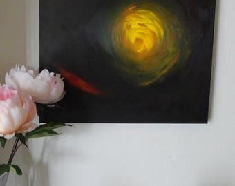 "Source, Acrylic on canvas 20""x16"""
