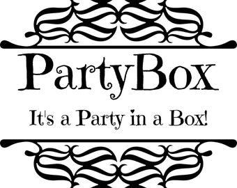 Fireman First Birthday Party Box