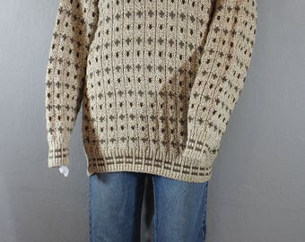 Vintage Hipster Sweater 80's