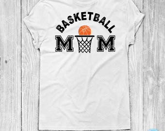 Basketball Mom SVG, PNG, DXF, Eps Cut File, Basketball Svg, Basketball Clipart, Basketball Vector, Sport Mom Svg, Cricut & Silhouette Cameo