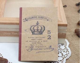 Vintage bakery Graineterie Journal notebook