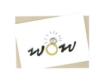 Wedding Card - wow
