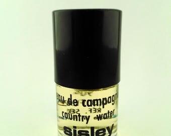 Vintage Mini Perfume Sisley Eau de Campagne 0.3 oz 9 ml Eau de Toilette