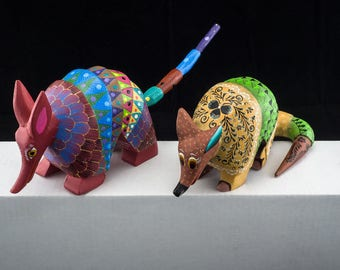 Armadillo-Alebrije-Mexican crafts (free shipping in Italy)