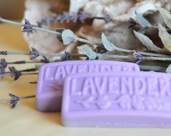 If you like lavender as much as I do you will love these soaps made with lavender essential oil.