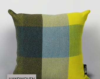 Modern Check Cushion (52x52cm)