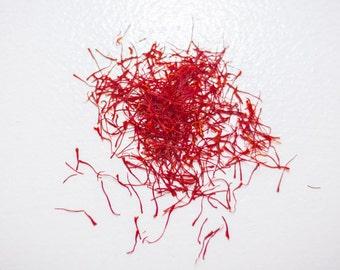 Fresh Saffron Threads, 1 gram
