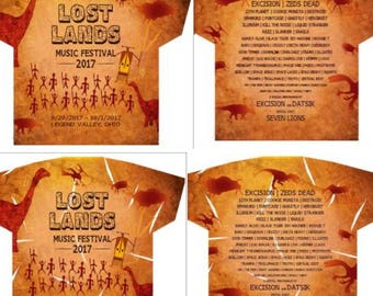 Lost Lands Cave Style Shirt 2017 PRESALE