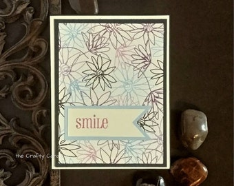 Smile card, any occasion card, just because card