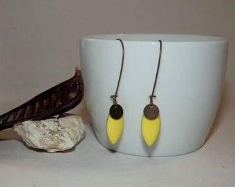 Shuttle EPOXY earrings