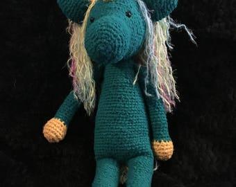 Crochet Unicorn **Ready to ship**