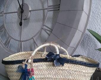 Navy Blue basket