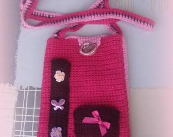 SAC-POCHETTE bandoulière en tricot