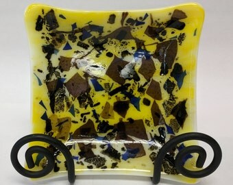 Fused Glass Tray Small