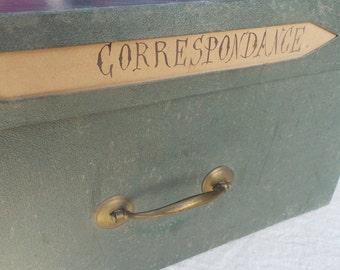 Notary cardboard box