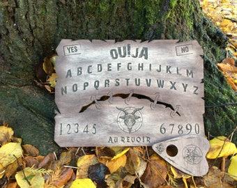 Authentic scar woodcut ouija board ouija board