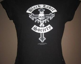 Vintage, 1990s Black label society t shirt, regular wear, rock tee 100% cotton size lg