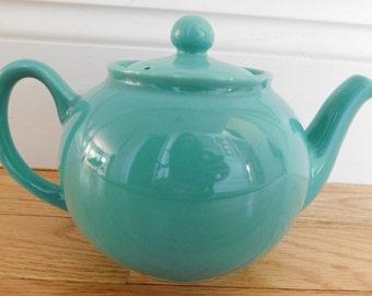 Pristine England Robins Egg Blue Teapot