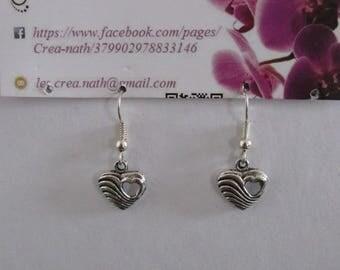 earring type heart B1