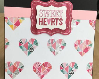 Sweet Hearts Valentines Day Love Card