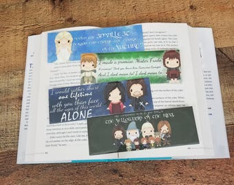 Middle Earth Set - 4 Pack Off Geeky Bookmarks