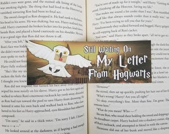 Letter From Wizard School - Bookish Bookmark
