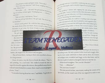 Team Renegades - Bookish Bookmark