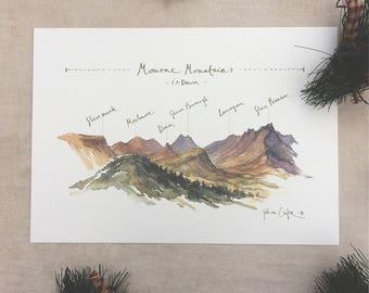 Mourne Mountain Print