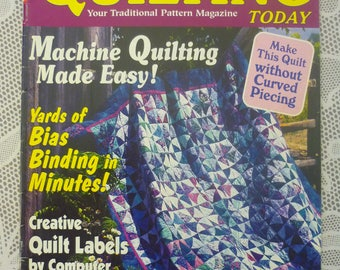 QUILTING TODAY magazine in English