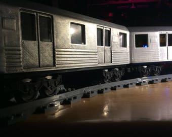 Subway Shell for 24 stud Lego Train Bases (Finished)