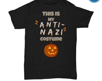 Fun Anti-Nazi Halloween T Shirt Costume