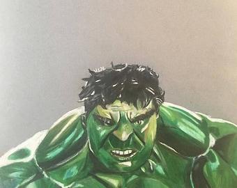 Hulk: Illustrated Print