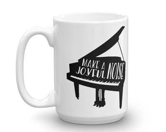 Make A Joyful Noise Mug (Piano)