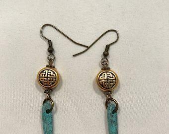 Irish Turquoise Earrings