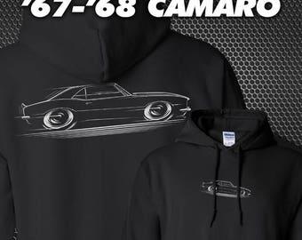 67-68 Chevy Camaro Hoodie 1967 1968