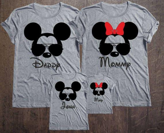 Matching Disney Tee Shirts