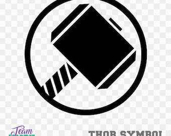 thor clip art etsy
