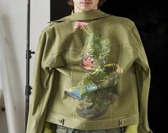 The Rebellious Flower Jacket