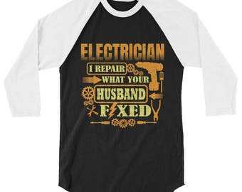Electrician, electrician gift, electrician shirt, gift for electrician, electricians, funny electrician, electrician tee, profession