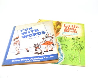 Fun With Words & Little Boy Blue Finger Plays Booklet