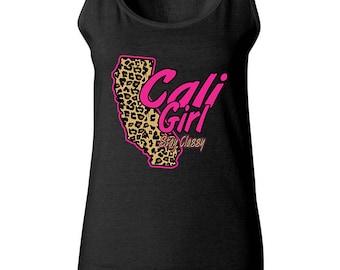 Cali Girl Pink Stay Classy Women Tank Top Sleeveless Tops Best Seller Designed Women Tanks