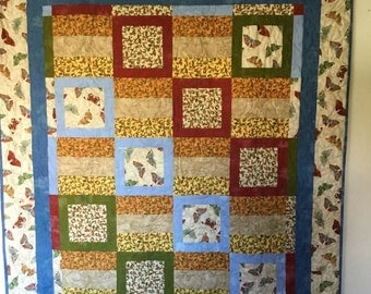 Earth Colors Quilts, Quilts for Sale, Handmade Quilts, Homemade Quilts, Quilts for Gifts, Housewarming Quilt