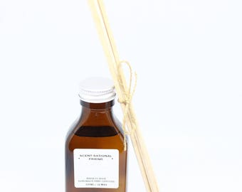 Amber Scent-Sational Friend Reed Diffuser, Christmas Gift, Birthday Gift, Friend Gift, Personalised Gift, Reed Diffuser, Choose Scent