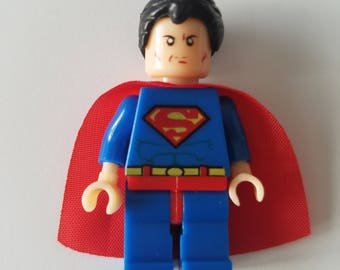 SUPERMAN LEGO Minifigure Toy  Popular Characters for Boys Girls Gift Collectors Item Favor Marvel DC Superhero Princess