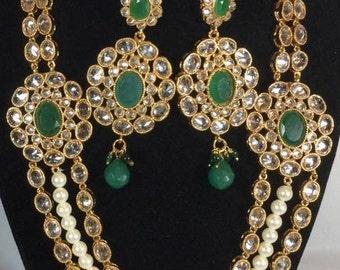 Rumtix 815 (Kundan Jewelry with Cultured Pearl)