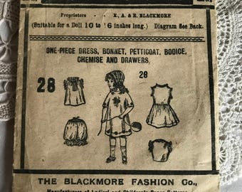 Blackmore Doll's Pattern no. 28