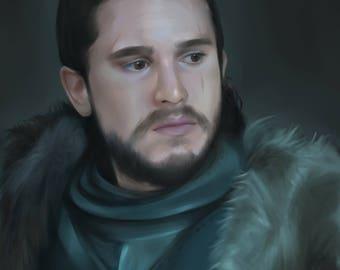 Jon Snow Print