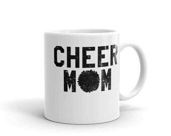 Cheer Mom Gift - Cheer Mom Mug - Cheerleader Mom - Cheerleading Mom - Cheer Mom Coffee Cup - Gift for Cheer Mom - Pom Squad